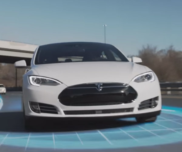 Tesla Flaunts Summon and Autopilot Features