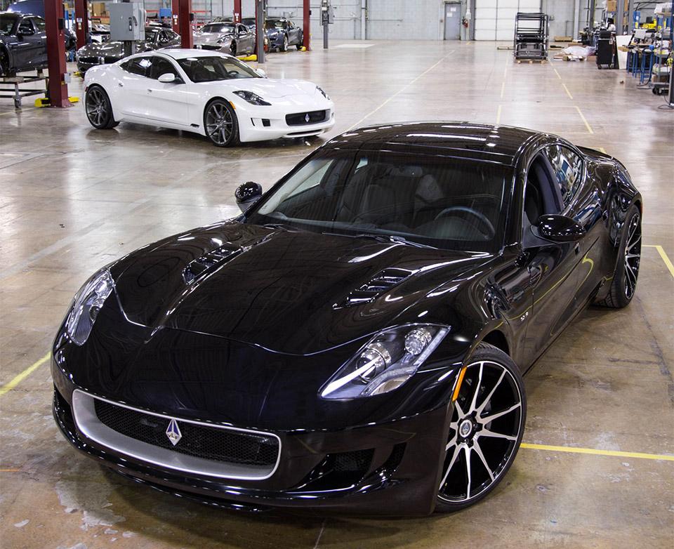 VLF Automotive Destino V8: A Fisker Karma with a 'Vette Engine