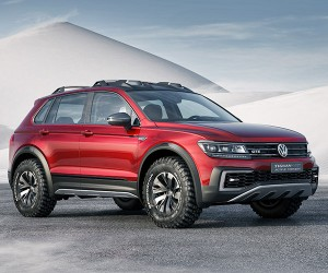 VW Tiguan GTE Active Concept is a Green Off-Roader