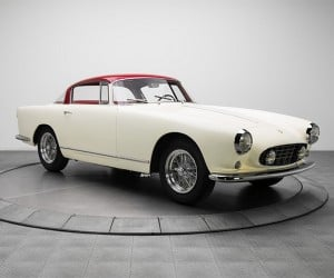 This White and Red '56 Boano Ferrari Costs Serious Green