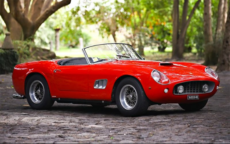 1961 Ferrari 250 GT SWB California Spyder up for Auction