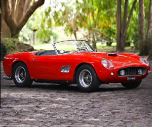 1961 Ferrari 250 GT SWB California Spyder up for Auction
