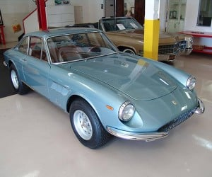 Take a Mindful Moment with This Mint Ferrari 330GTC