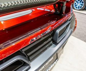 McLaren 650S Rear