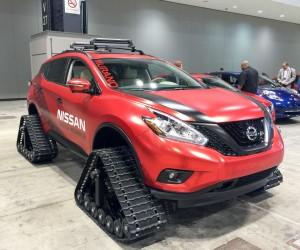 Nissan Murano Winter Warrior Concept