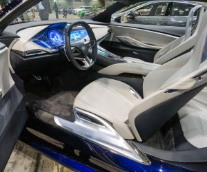 Buick Avista Concept Interior