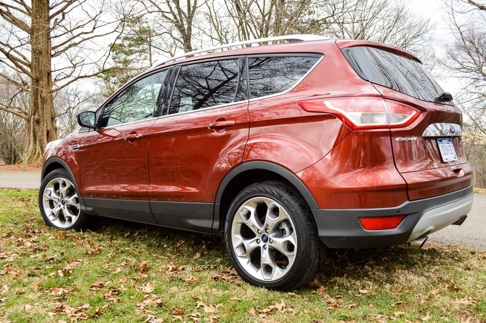 Wonderful Review 2016 Ford Escape Titanium  95 Octane