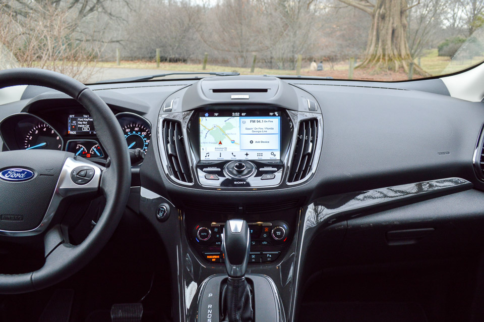 review 2016 ford escape titanium the thrill of driving. Black Bedroom Furniture Sets. Home Design Ideas
