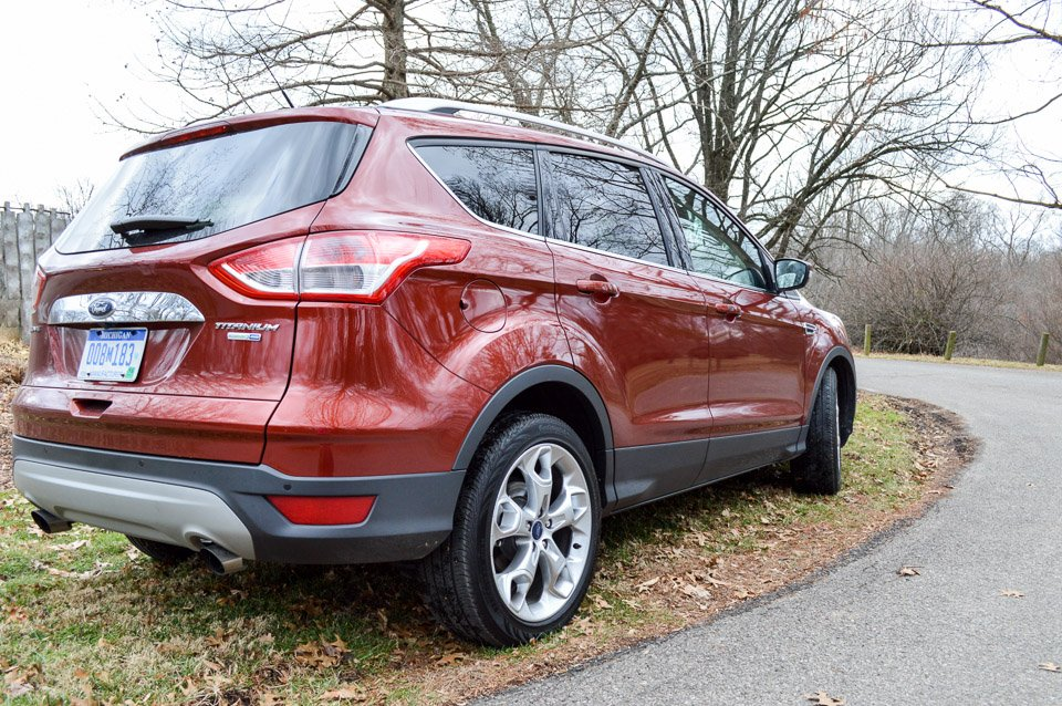 Review 2016 Ford Escape Titanium The Thrill Of Driving