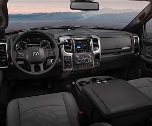 2017 Ram Power Wagon interior