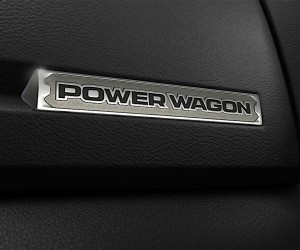 2017 Ram Power Wagon interior badge