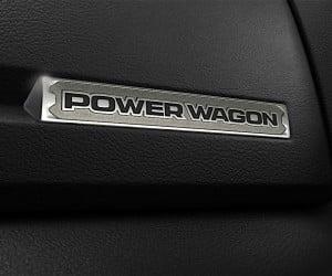 2017 Ram Power Wagon interior badge