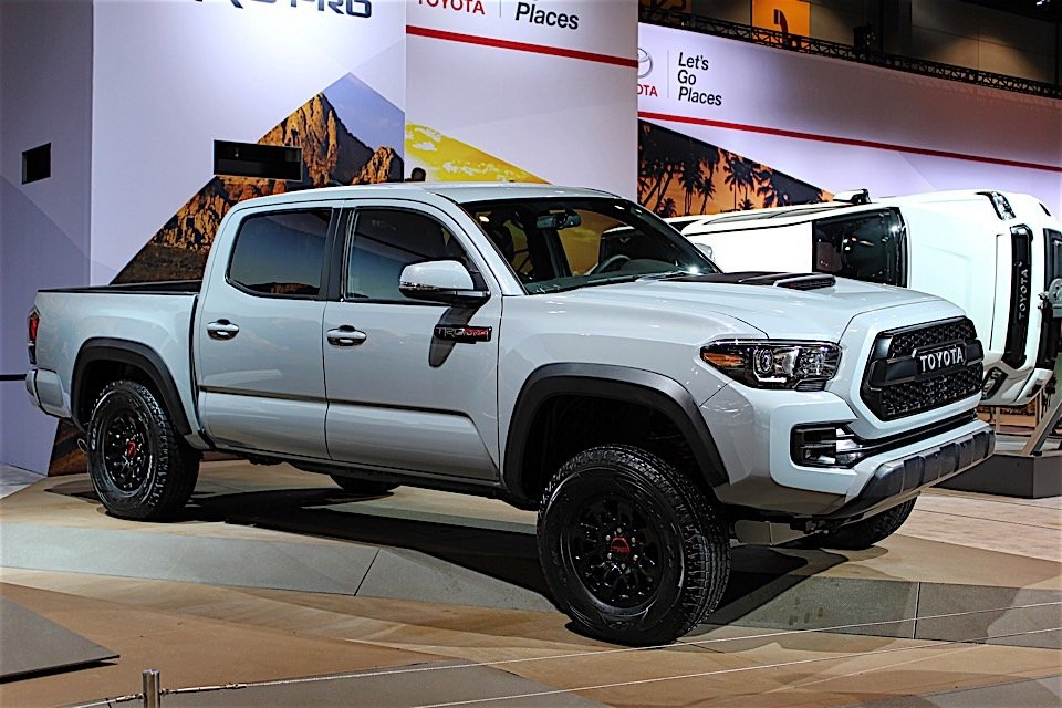 2017 toyota tacoma trd pro bows in chicago 95 octane. Black Bedroom Furniture Sets. Home Design Ideas