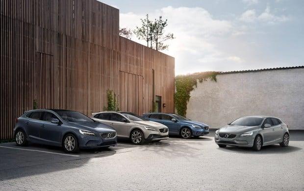 Volvo V40 Momentum, Inscription, Cross Country and R-design Loca