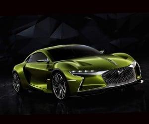 DS E-Tense Supercar Concept Is Avant-Garde, Awesome