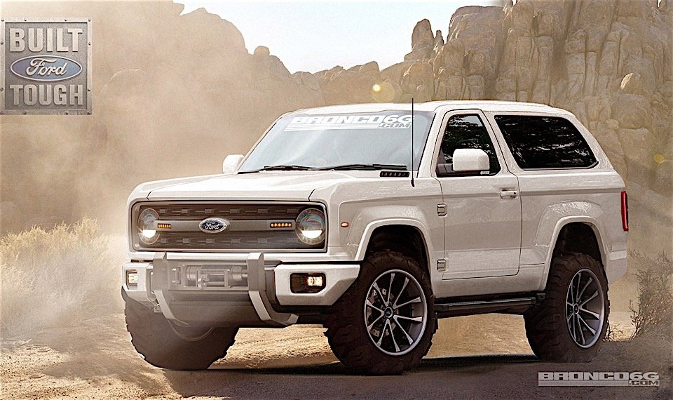 Check Out These Amazing New Ford Bronco Renderings