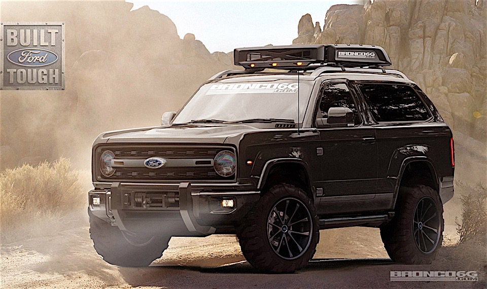 Check out These Amazing New Ford Bronco Renderings! - 95 ...