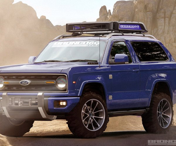 Check out These Amazing New Ford Bronco Renderings!