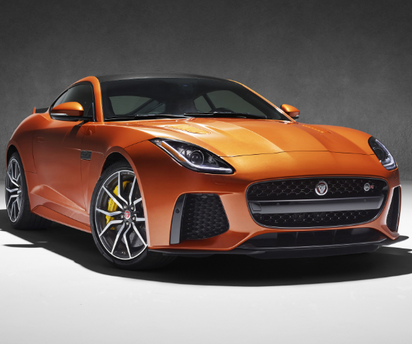 Jaguar F-Type SVR Fastest Series Jaguar Ever!