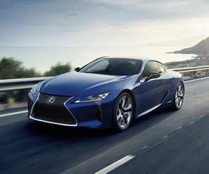 Lexus LC 500h Debuts with Multi-Stage Hybrid System