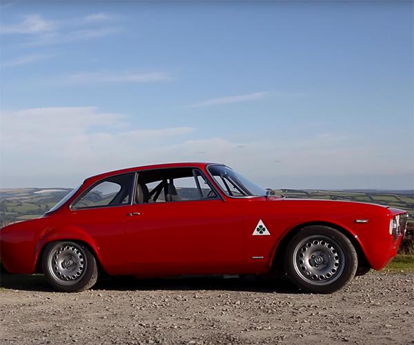 Alfa Romeo Giulia Sprint Embodies La Dolce Vita
