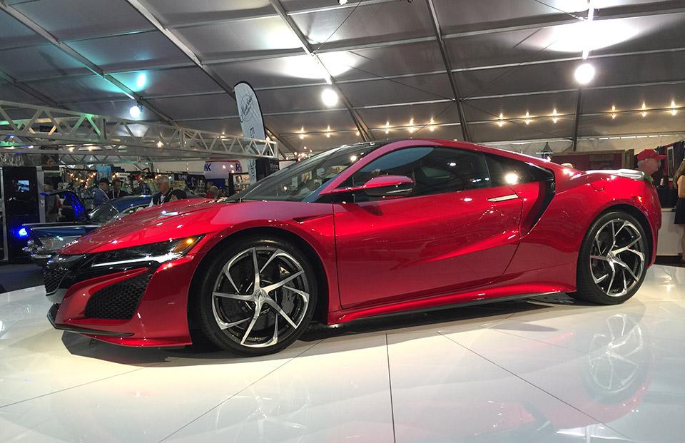2017 Acura NSX VIN #001 Sells for $1.2 million - 95 Octane