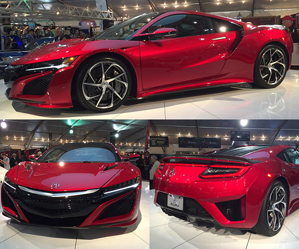 2017 Acura NSX VIN #001 Sells for $1.2 million