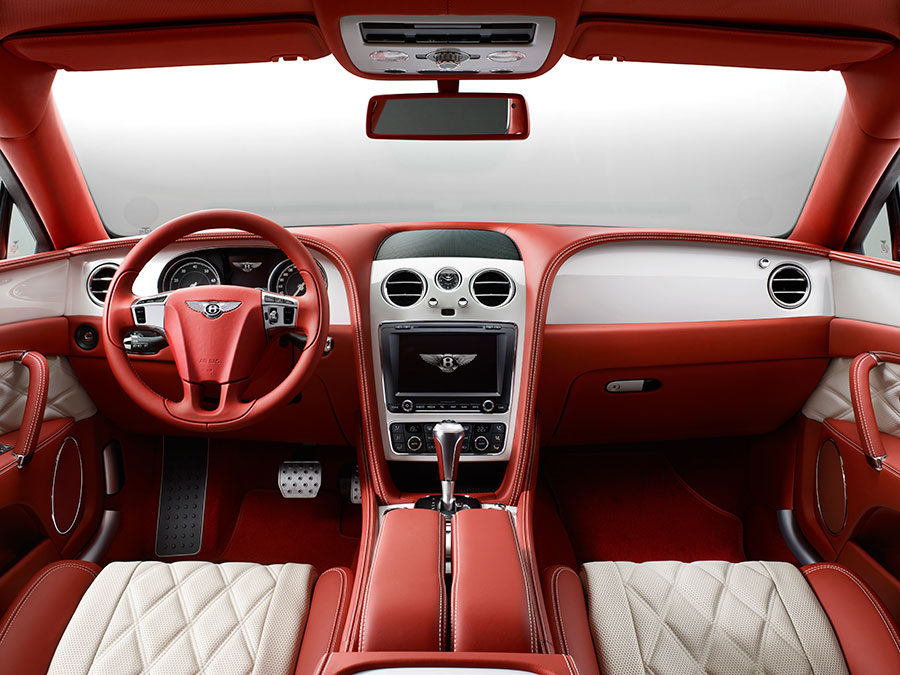 Bentley Flying Spur Offers Champagne Cooler and More