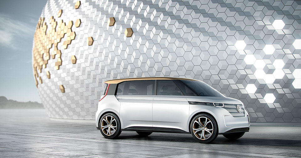 VW Considering BUDD-e Microbus for Production
