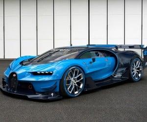 Bugatti Vision Gran Turismo Sounds as Insane as it Looks
