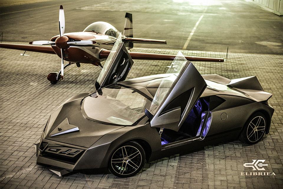 Elibriea Concept Car: Bugatti with a Splash of Aventador