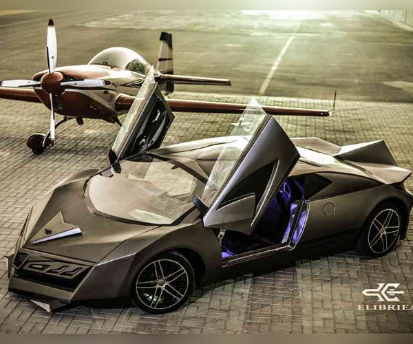 Elibriea Concept Car: Bugatti with a Splash of Aventador