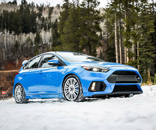 Ford Focus RS Winter Tire Package: Time to Make the Snownuts!