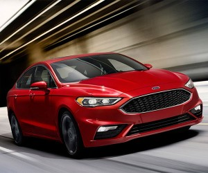2017 Ford Fusion V6 Sport Suspension Helps Smooth Potholes