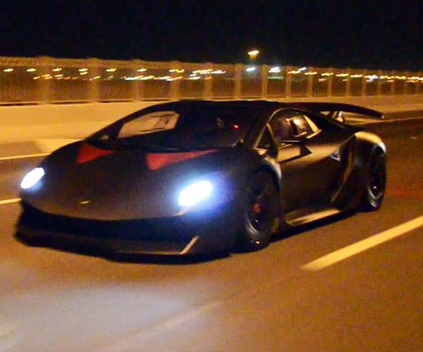 Dude Flogs Lamborghini Sesto Elemento on the Street