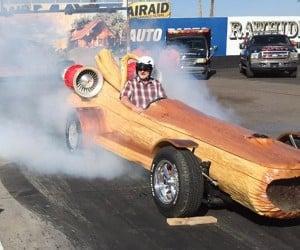 World's Fastest Log Hits 90mph