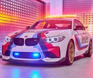 BMW M2 Gets Gussied up for MotoGP Safety Car Duty