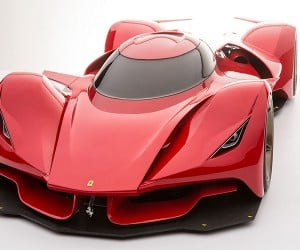 Car Designer Dreams Up Rad Ferrari Le Mans Prototype