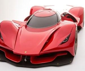 Car Designer Dreams Up Rad Ferrari Le Mans Prototype