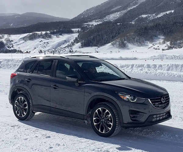 Mazda's i-ACTIV AWD Smokes the Competition in the Snow