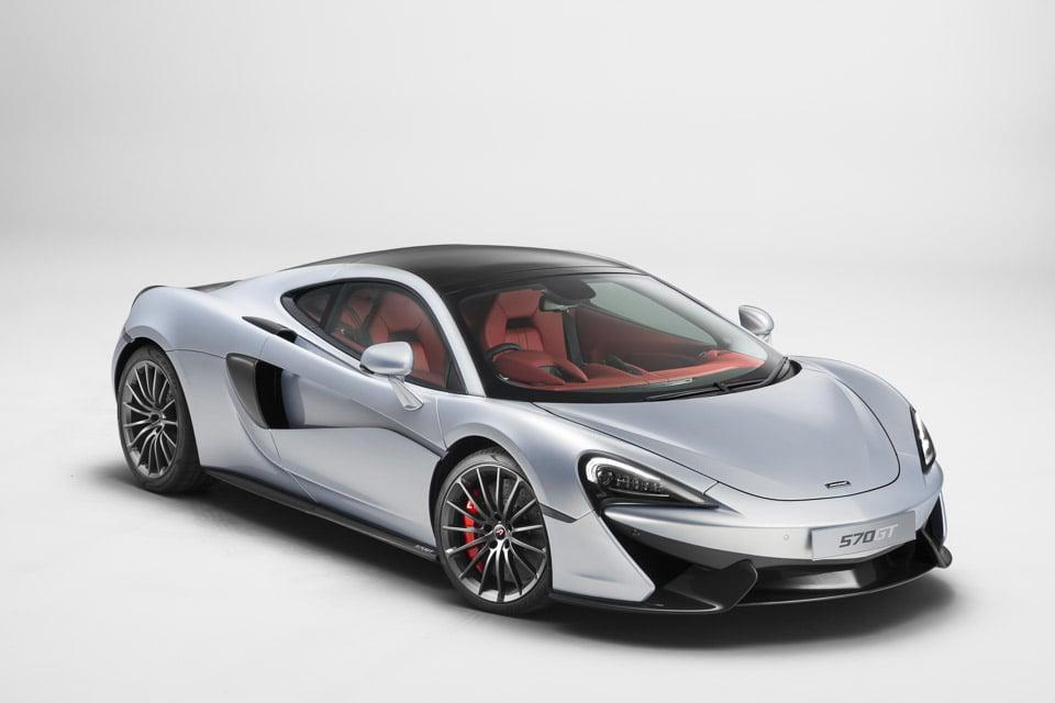 McLaren 570GT Keeps the Power, ups the Luxury & Comfort