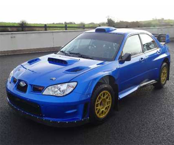 Subaru Rally Car Driven by Colin McRae up for Sale
