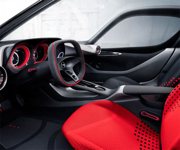 Opel GT Concept Ditches Buttons