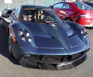 Rich Dude Takes Pagani Huayra Grocery Shopping