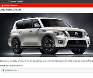 Is This the Next Nissan Armada?