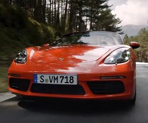 Cruise Through the Highlights of the Porsche 718 Boxster