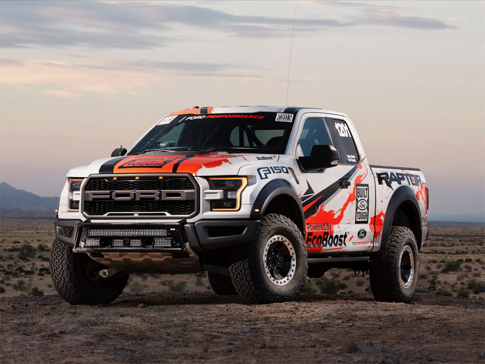2017 Ford Raptor Ready to Race in the Desert