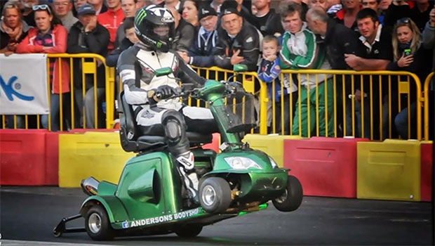 World's Fastest Mobility Scooter Goes 107.6mph