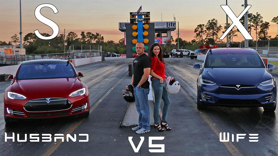 Tesla Model X Throws Down World Record SUV Quarter Mile