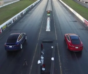 Tesla Model X Throws Down World Record SUV Quarter Mile